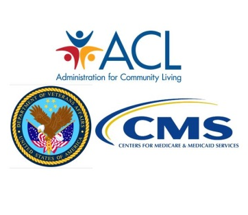 ACL, CMS and VA Logos Click to see our story